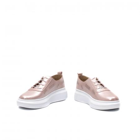 Pantofi dama casual, piele naturala, PsC C592100 C54