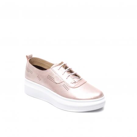 Pantofi dama casual, piele naturala, PsC C592100 C50