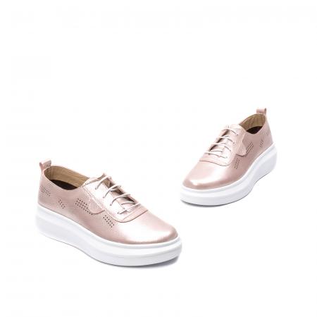 Pantofi dama casual, piele naturala, PsC C592100 C51