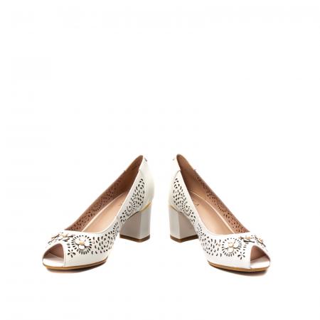 Pantofi dama de vara elegante, piele naturala, EP  2594
