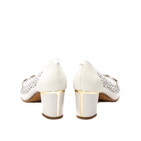 Pantofi dama de vara elegante, piele naturala, EP  2596