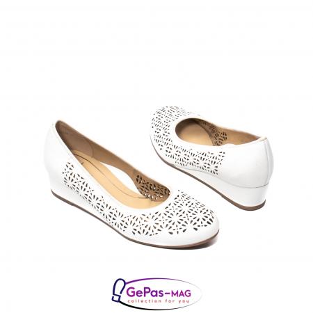 Pantofi dama de vara, piele naturala, 12-143342