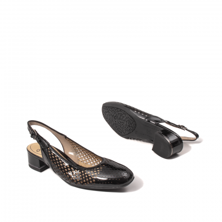 Pantofi dama decupati, piele naturala, AR118633