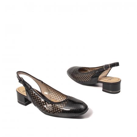 Pantofi dama decupati, piele naturala, AR118632