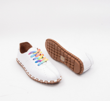 Pantofi dama, casual din piele naturala, E2H19Y2902 13-N5