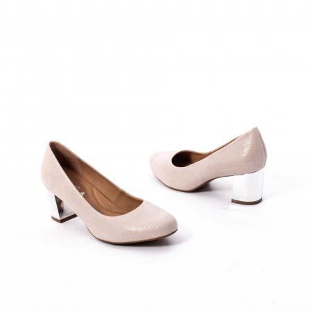 Pantofi dama eleganti piele naturala Epica oe7122, nude2