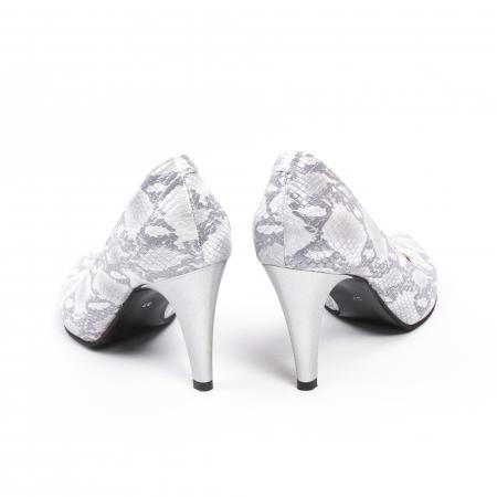 Pantofi dama Nike Invest 11702A piele naturala, argintiu6