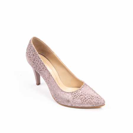 Pantofi dama Nike Invest 11709B piele naturala, pudra0