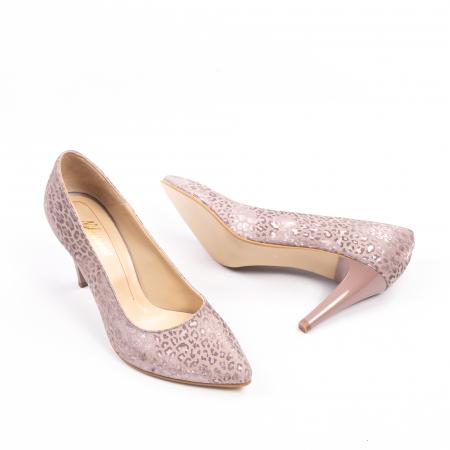 Pantofi dama Nike Invest 11709B piele naturala, pudra3