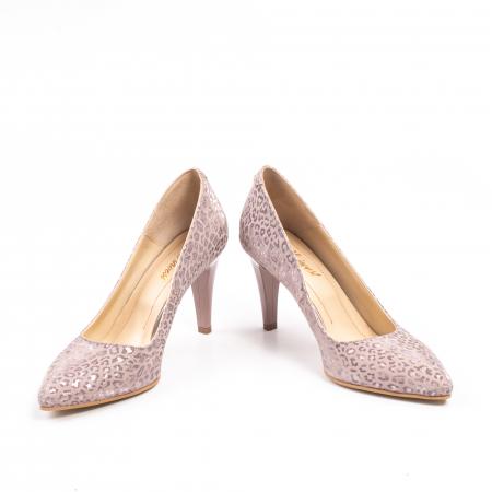 Pantofi dama Nike Invest 11709B piele naturala, pudra4