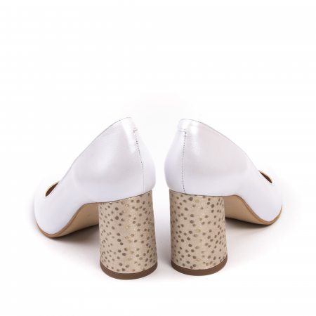 Pantofi dama Nike Invest 322 piele naturala, alb sidef6