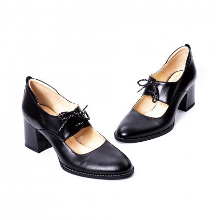 Pantofi dama piele naturala Nike Invest 327, negru1