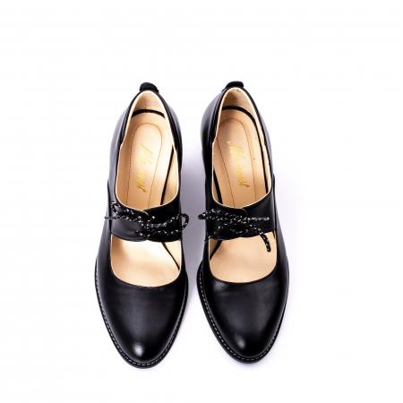 Pantofi dama piele naturala Nike Invest 327, negru5