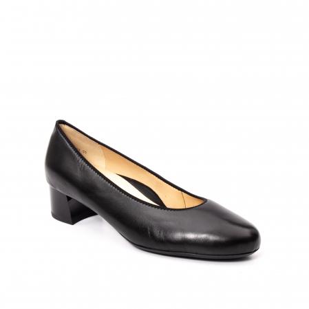 Pantofi dama piele naturala Ara 16601, negru0