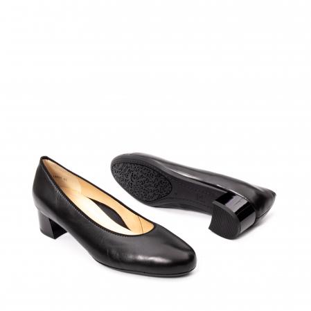 Pantofi dama piele naturala Ara 16601, negru3