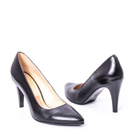Pantofi dama piele naturala Nike Invest 1170N, negru2