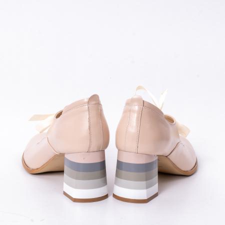 Pantofi dama piele naturala Nike Invest 327B, nude6