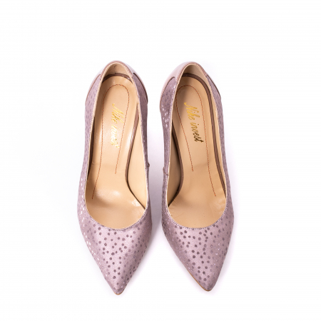 Pantofi dama piele naturala texturata Nike Invest 329 2CLB16, roz5