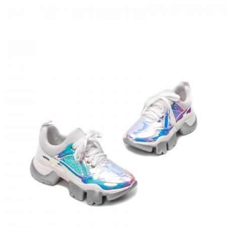 Pantofi dama sport, piele ecologica,  A6M099-2 F3-Z1