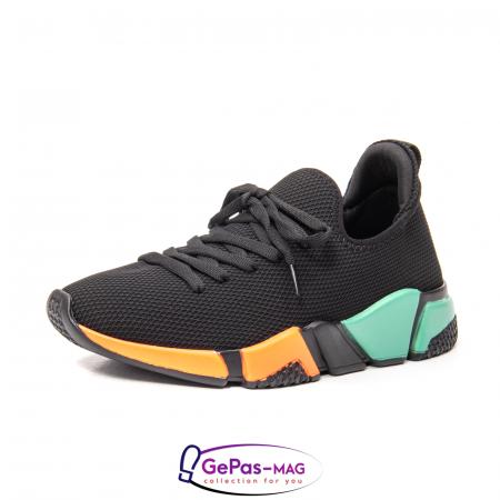Pantofi dama sport din material textil, A6M044-029 01-T0