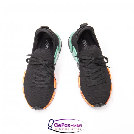 Pantofi dama sport din material textil, A6M044-029 01-T3