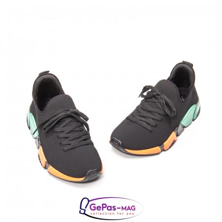 Pantofi dama sport din material textil, A6M044-029 01-T1