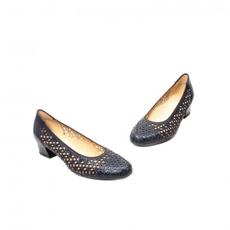 Pantofi dama, piele naturala, AR 12-35862 Bl1