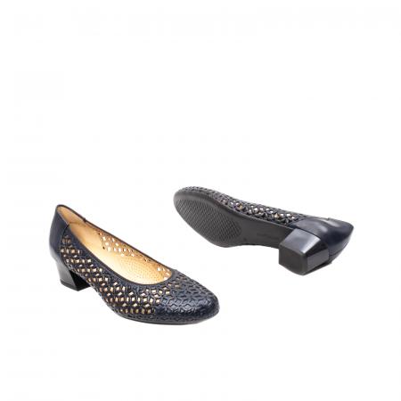 Pantofi dama, piele naturala, AR 12-35862 Bl3
