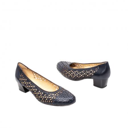 Pantofi dama, piele naturala, AR 12-35862 Bl2