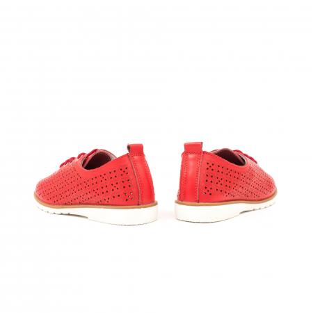 Pantofi de vara 102 rosu5