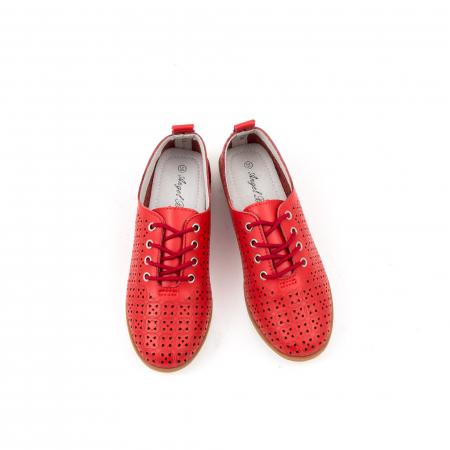 Pantofi de vara 102 rosu6