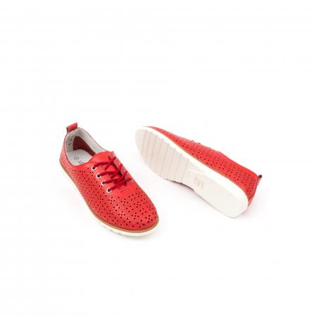 Pantofi de vara 102 rosu2