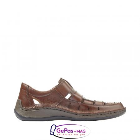 Sandale barbati, piele naturala, 05268-253