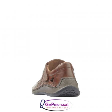 Sandale barbati, piele naturala, 05268-252