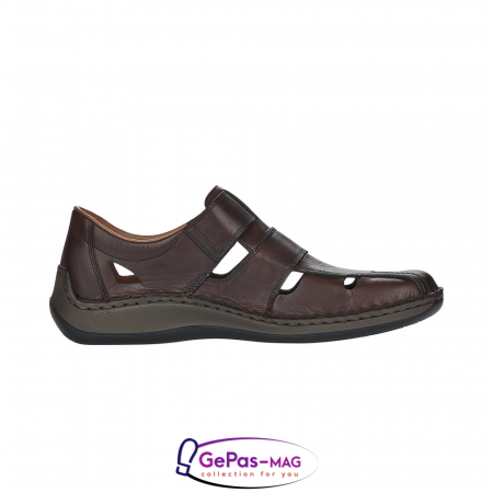 Sandale barbati, piele naturala, 05269-256