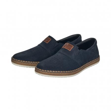 Pantofi de vara barbat, piele naturala nubuc, B52566