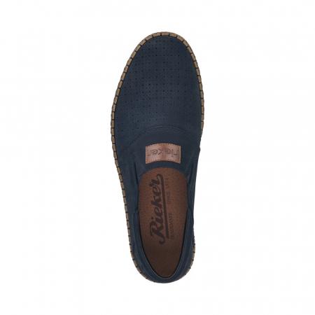 Pantofi de vara barbat, piele naturala nubuc, B52563