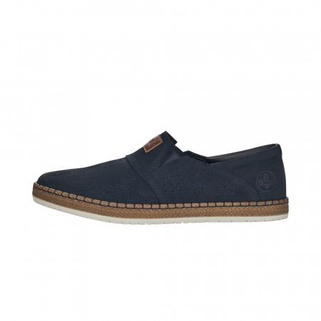 Pantofi de vara barbat, piele naturala nubuc, B52564