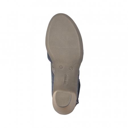 Pantofi dama eleganti de vara, piele naturala, RIK 40977-145