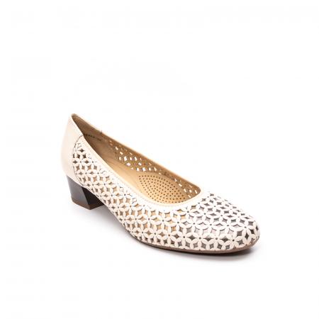 Pantofi dama vara, piele naturala, AR 12-35862 C0