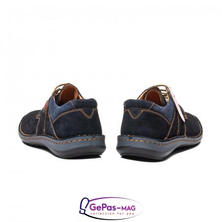 Pantofi de vara, piele intoarsa, OT 9560 42-I bleumarin [6]
