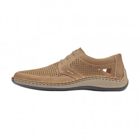 Pantofi barbati de vara, piele naturala, RIK 05259-646