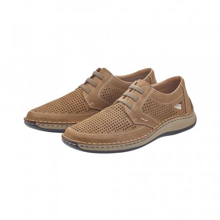 Pantofi barbati de vara, piele naturala, RIK 05259-643