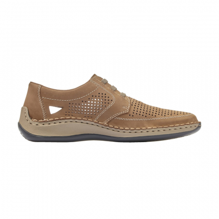 Pantofi barbati de vara, piele naturala, RIK 05259-644