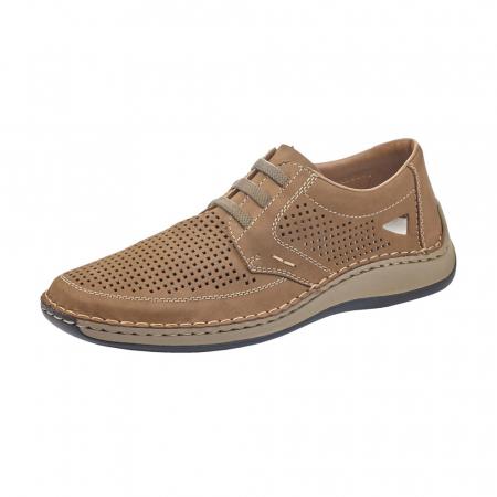 Pantofi barbati de vara, piele naturala, RIK 05259-640