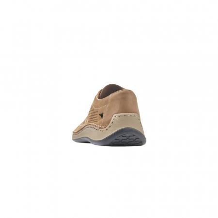 Pantofi barbati de vara, piele naturala, RIK 05259-642