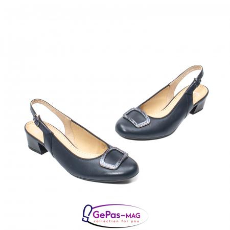 Pantofi piele decupati, AR35865-02 42-N1