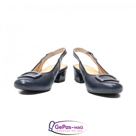 Pantofi piele decupati, AR35865-02 42-N4