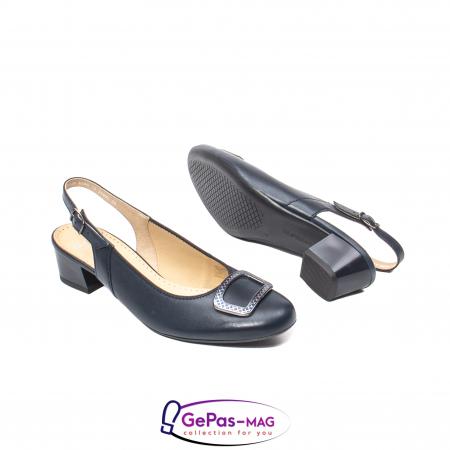 Pantofi piele decupati, AR35865-02 42-N3