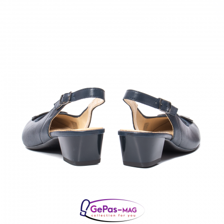 Pantofi piele decupati, AR35865-02 42-N6